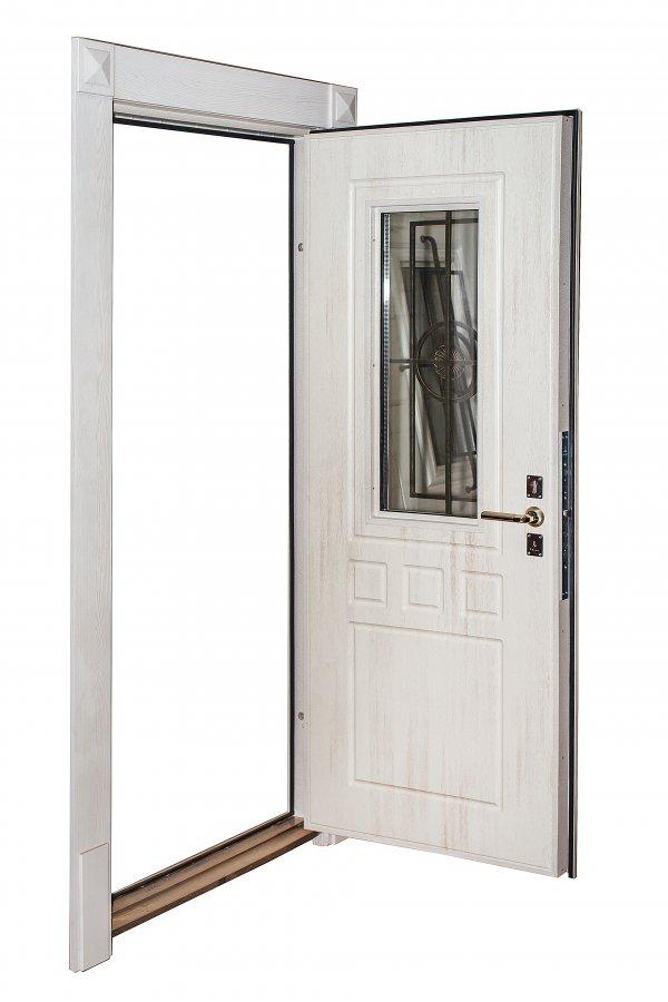 Двери со стеклопакетами